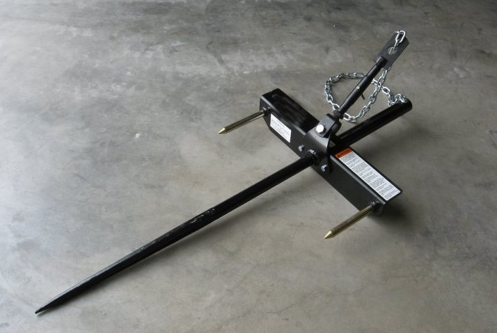 Clamp-On Bale Spear 2,000 lb.