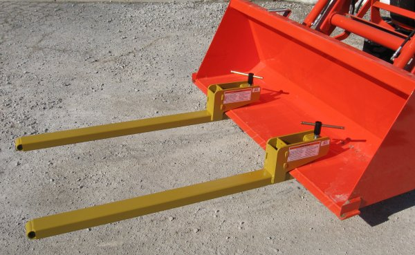 Clamp-On Pallet Forks